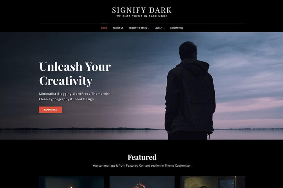 Signify Dark