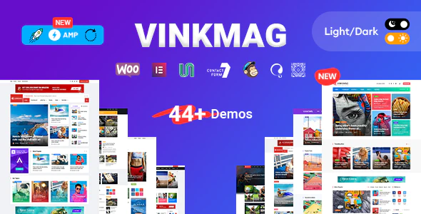 Vinkmag - AMP Newspaper Magazine WordPress Theme