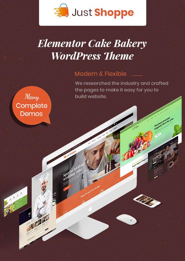 cake wordpress theme